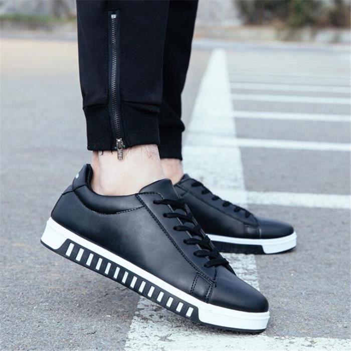 hommes Sneaker Grande Nouvelle qualité Marque Confortable De Taille Antidérapant Sneakers Haut arrivee Chaussures Luxe q0dTx51TZw