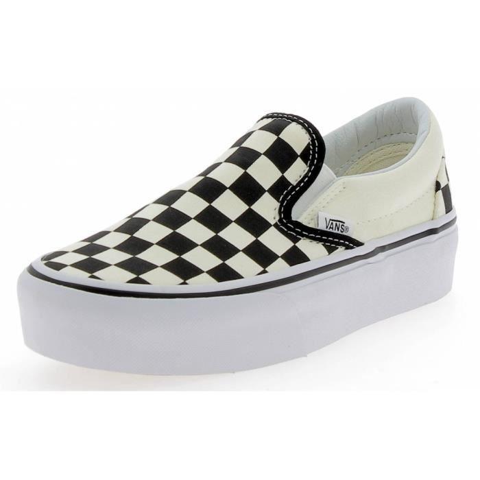chaussures damier vans