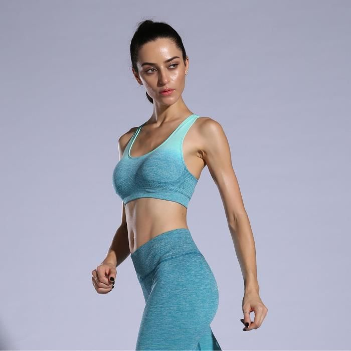 Nik Poitrine Exercice De Aptitude Femme Coussin Vêtements Yoga rAwF6qPr0