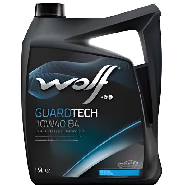 HUILE MOTEUR Bidon 1 litre d'huile 10W40 Wolf 8303616