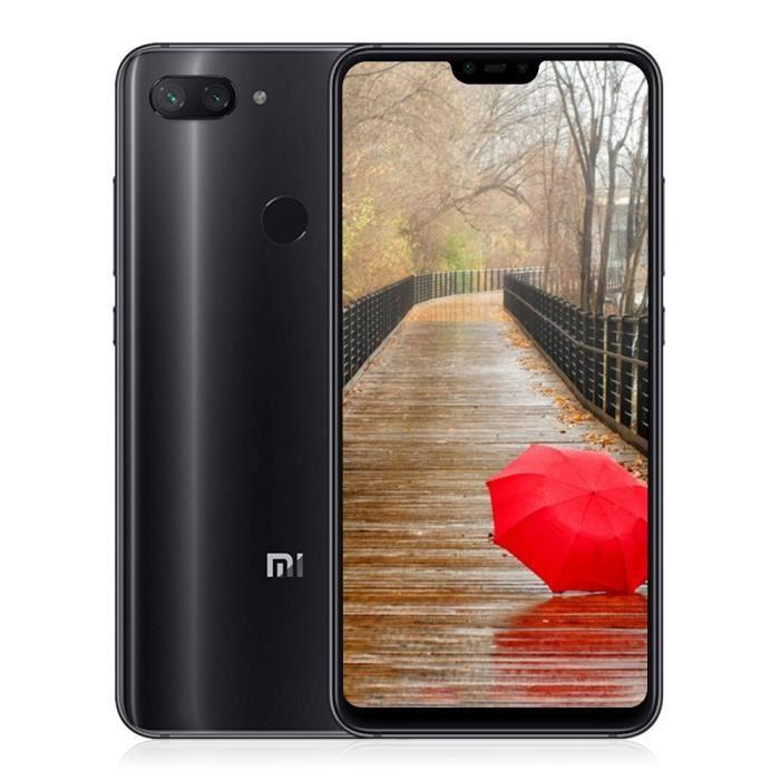 Téléphone portable XIAOMI Mi 8 Lite 6+128Go 4G Smartphone - Noir