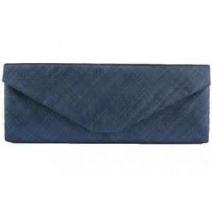 pochette soiree bleu marine achat vente pas cher. Black Bedroom Furniture Sets. Home Design Ideas