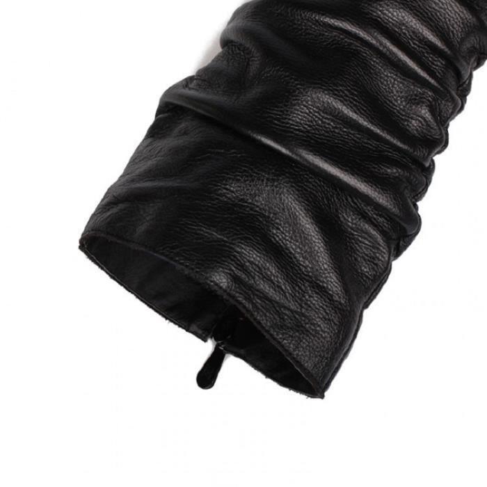 Femmes Au Dessus Du Genou Vente Chaude De Qualité Supérieure Bas Extensible à Enfiler Talon Bas Moyen Chaussures Cuir Véritable Bott