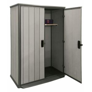 armoire de jardin achat vente armoire de jardin pas cher cdiscount. Black Bedroom Furniture Sets. Home Design Ideas