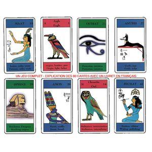 CARTES DE JEU Le Tarot / Oracle des Hiéroglyphes - Jeu de 80 Lam