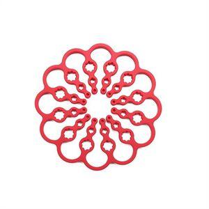 FEUILLE DE CUISSON  Tapis de cuisson en silicone, rouge