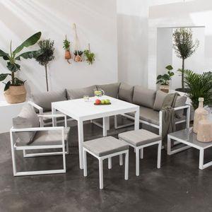 Salon de jardin ibiza - Achat / Vente pas cher