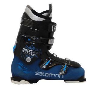 CHAUSSURES DE SKI Chaussures de ski Salomon Quest access R80 noir bl