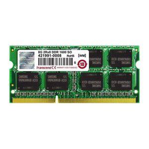 MÉMOIRE RAM TRANSCEND Mémoire APPLE JetMemory - DDR3 - 8Go - 1