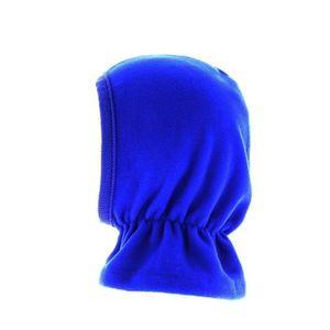 09b6f26f8513 BONNET - CAGOULE Cagoule polaire enfant bleu roy