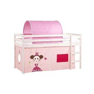 rideau lit mi hauteur achat vente rideau lit mi hauteur pas cher soldes d s le 10 janvier. Black Bedroom Furniture Sets. Home Design Ideas