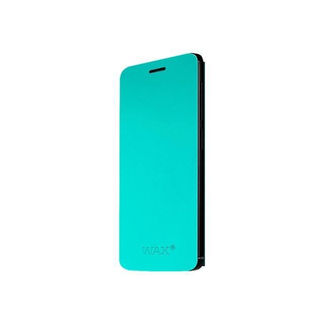 Wiko Folio Coque Support pour Wax Turquoise