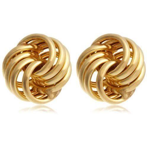 Boucles d`oreille - Femme - Or jaune 9 carats 1 Gr