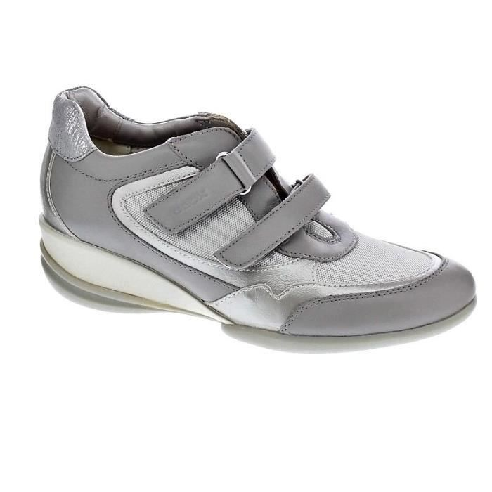 Chaussures Geox Femme Botines modèle Persefone Gris Achat
