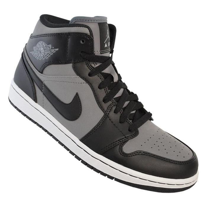 design de qualité e9276 20697 Chaussures Nike Air Jordan 1 Phat Gris - Achat / Vente ...
