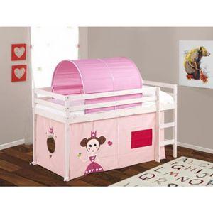 rideau pour lit mi hauteur achat vente pas cher. Black Bedroom Furniture Sets. Home Design Ideas