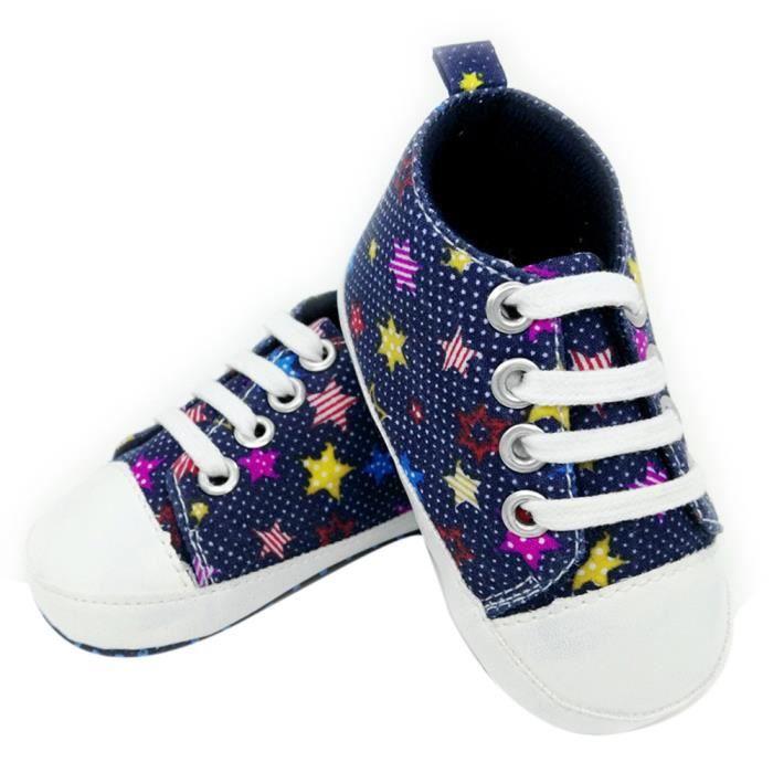 BOTTE Toile chaussures bébé Jeunesse slip Anti Toddler Sneaker de tibétaineHM Chaussures souple Semelle colorée gqawrzg