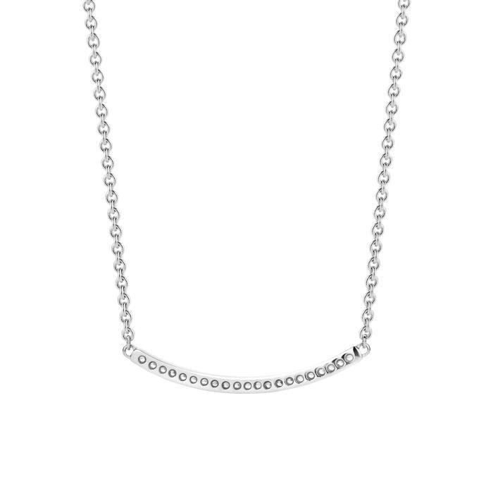 Ti Sento - Collier - Argent Plaqué Rhodium 925 - 42.0 Cm - 3784zi-42 Z8P0R