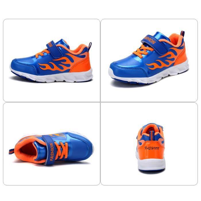 Basket Enfant Respirantes Chaussure Sport SHT-XZ236 neSEtDlNGC