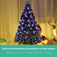 SAPIN - ARBRE DE NOËL Arbre de Noël LED artificiel sapin Fibre Optique é