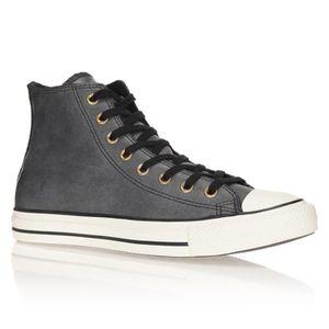 Converse Ct Chaussures Leather Hi Homme Vintage Baskets Noir Achat SzqUMVp