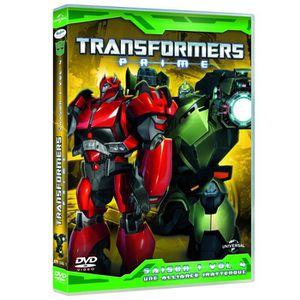 DVD DESSIN ANIMÉ DVD Transformers prime, saison 1, vol. 4 : une ...