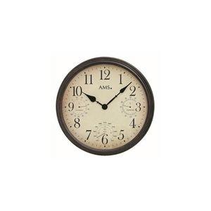 HORLOGE - PENDULE Horloge murale moderne avec mouvement à quartz de