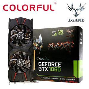 CARTE GRAPHIQUE INTERNE Coloré igame GTX1060 U-3G Gaming Video Graphics Ca
