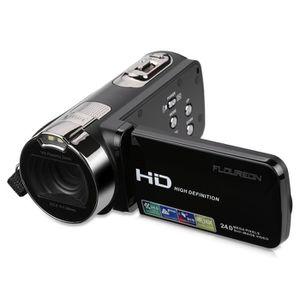 CAMÉSCOPE NUMÉRIQUE Floureon HD Caméra Vidéo Numérique Portable 1080P