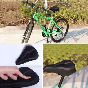 SELLE - TIGE DE SELLE Couleur Noir Vélo selle couverture housse de siège