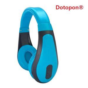 CASQUE - ÉCOUTEURS Dotopon®(bleu)Smart Consumer Electronics Communéme