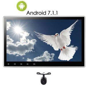 AUTORADIO Caméra arrière Double DIN Android 7.1 2 DIN 10,1 p
