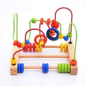 BOULIER 1PCS Circuit de Motricite Enfant Boulier Montessor