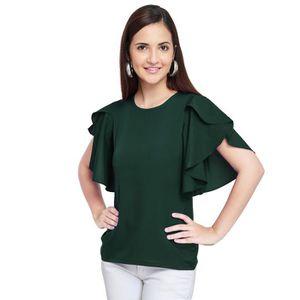 Top femme vert - Achat   Vente Top femme vert pas cher - Cdiscount.com 9208f3c6306