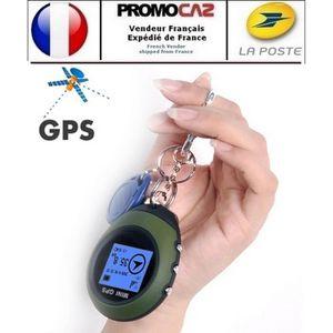 GPS PEDESTRE RANDONNEE  Mini GPS Traceur Géolocalisateur multifonctions (f