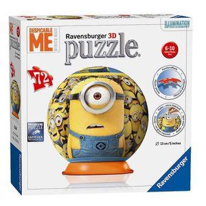 PUZZLE Moi Moche et Méchant - Minions Enfants 3D Puzzle B
