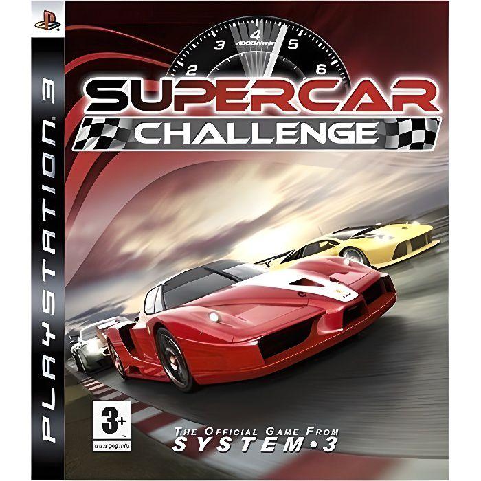 JEU PS3 SUPERCAR CHALLENGE / JEU CONSOLE PS3