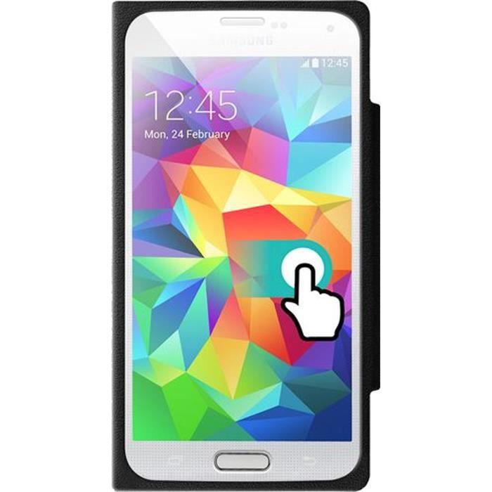 COLORBLOCK Etui à rabat pour Samsung Galaxy S5 - Noir