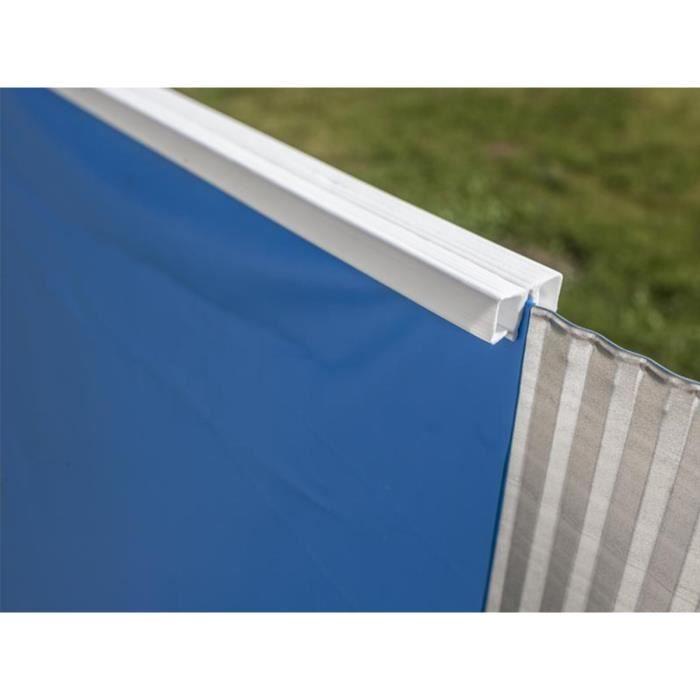 GRE Liner pour piscine ovale 610x375 cm h 132 cm - Bleu
