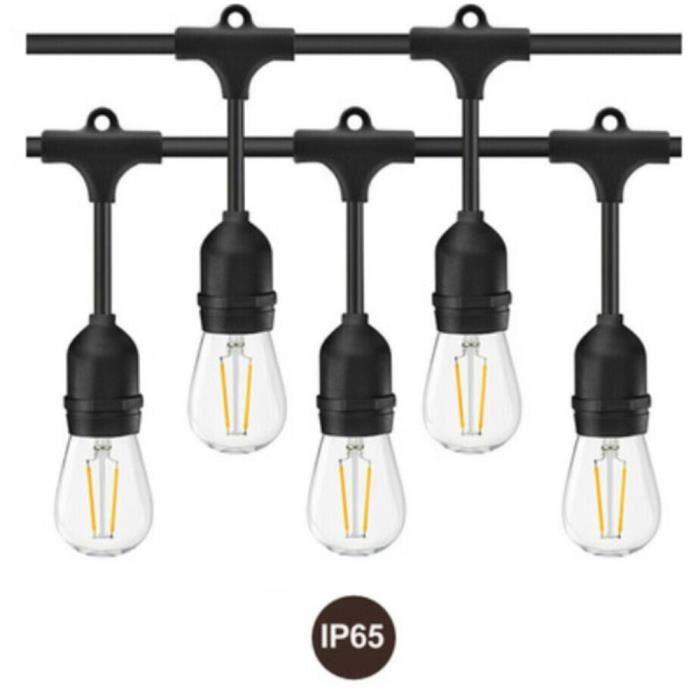 De Lumières Extérieur Edison 2w Hanging Led Vintage Ampoules Sut4839 Étanche SUxqwwZg