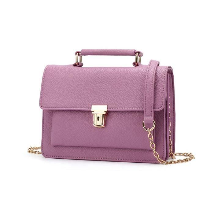 Sac à bandoulière pour femmes, mode Girlstop-poignée Sacs à bandoulière Satchel Lady Bag DLIGI