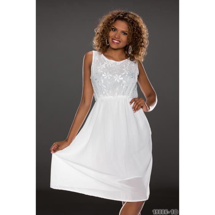 robe blanche mi longue femme sexy blanc achat vente robe sexy 2009968144618 cdiscount. Black Bedroom Furniture Sets. Home Design Ideas