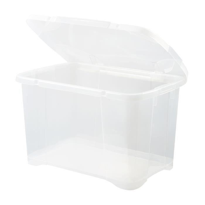 BOITE DE RANGEMENT EDA PLASTIQUE Boîte de rangement Clip'Box 40 L - N