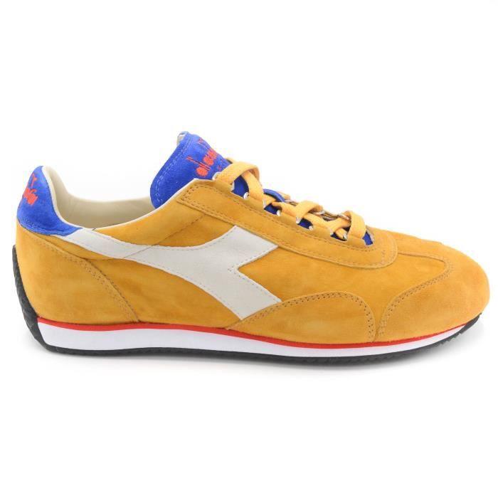 Glow homme C6704 Kidskin Golden Bl Directoire Sneaker T art 40 Diadora Equipe xa00X