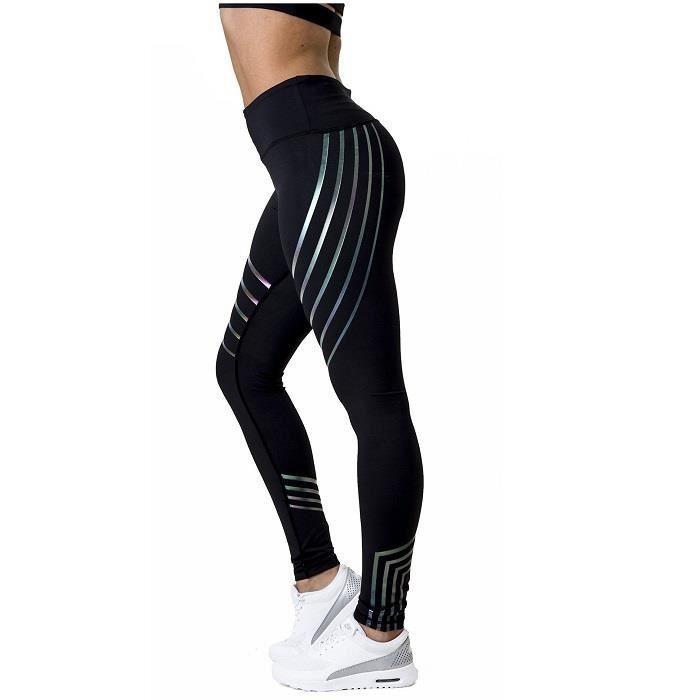 Pantalon Sport Séchage Yoga Imprimé Rapide Vêtements Réfléchissant Femmes À Leggings Pantalons De Gym hQCstrdx