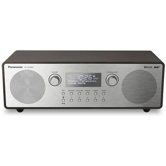 Panasonic Rf-d100bt, Portable, Numérique, Dab,dab ,fm, 87,5 - 108 Mhz, 10 W, 10%