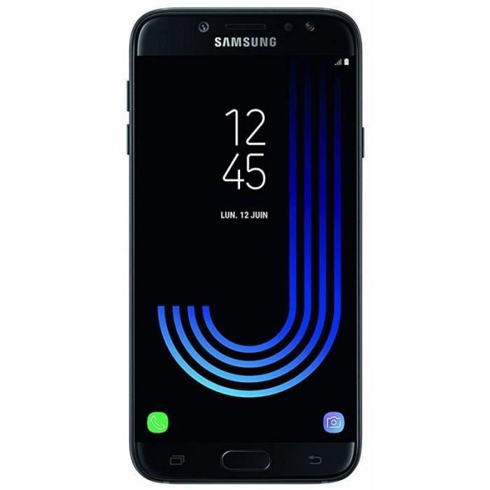 samsung j730f ds galaxy j7 2017 double sim noir tout op rateurs achat smartphone pas cher. Black Bedroom Furniture Sets. Home Design Ideas