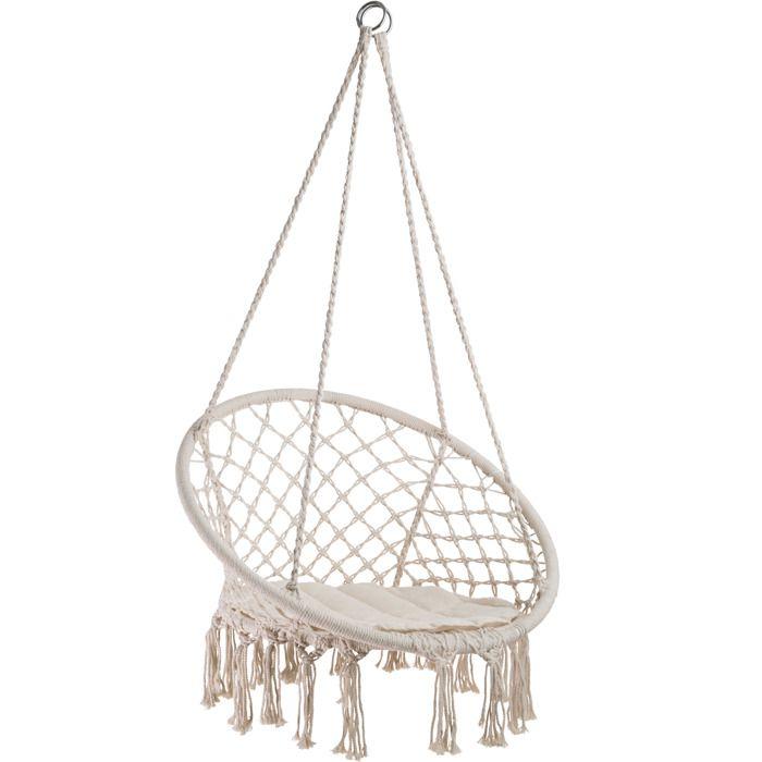 fauteuil hamac suspendu achat vente pas cher. Black Bedroom Furniture Sets. Home Design Ideas