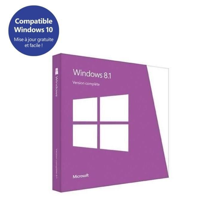 SYSTÊME D'EXPLOITATION Windows 8.1 OEM édition 64 Bit
