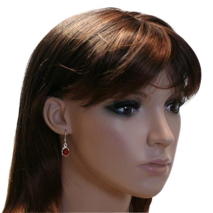 Boucles doreilles en argent 925 femmes 0630260081980 Amber Sterling PCCN7